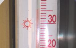 Dziwnówek. Rekord ciepła.