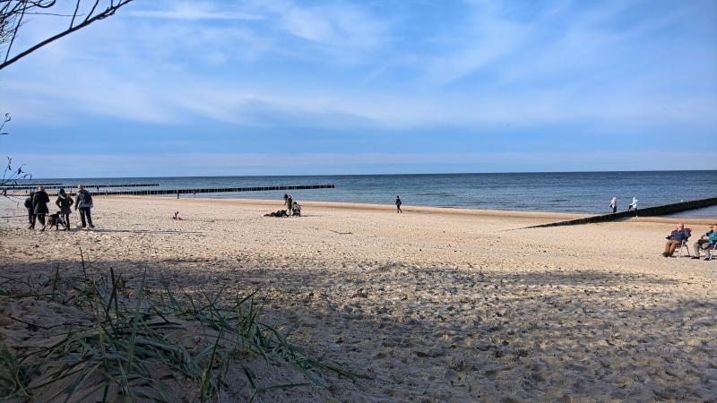 Plaża w Dziwnówku